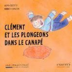 Clément et les plongeons dans le canapé